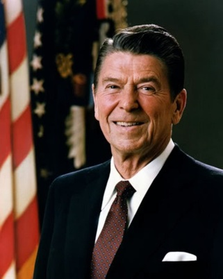 Photo:  Pres. Ronald Reagan